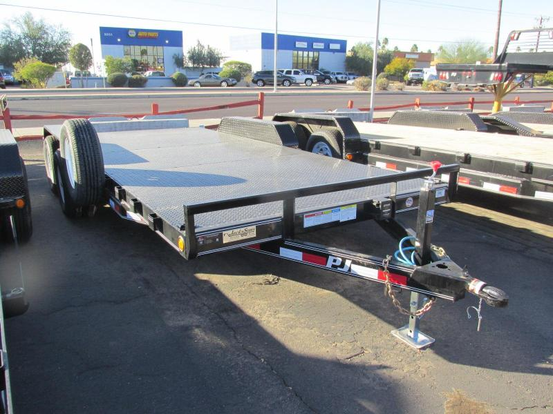 2018 PJ Trailers 83x18 Equipment Trailer