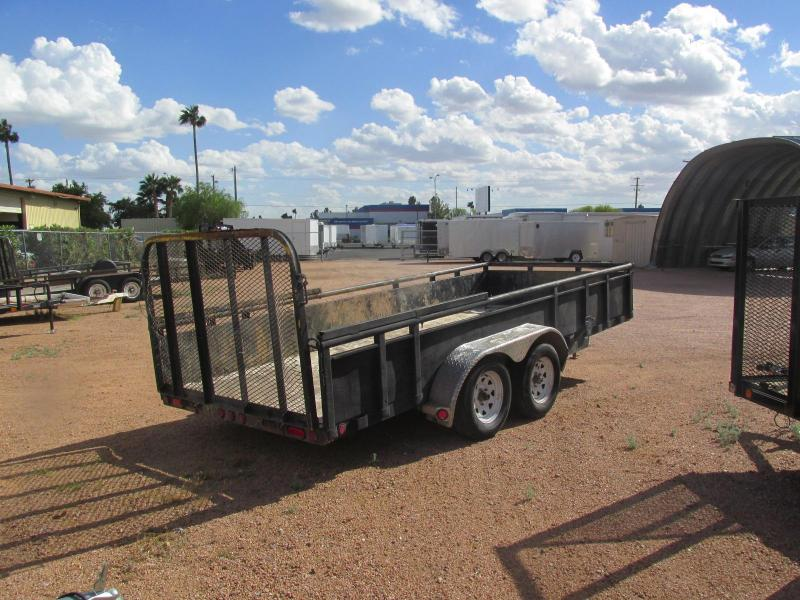 Reduced Price!!!! Used 2015 PJ Trailers 16 x 77 Utility Trailer ...