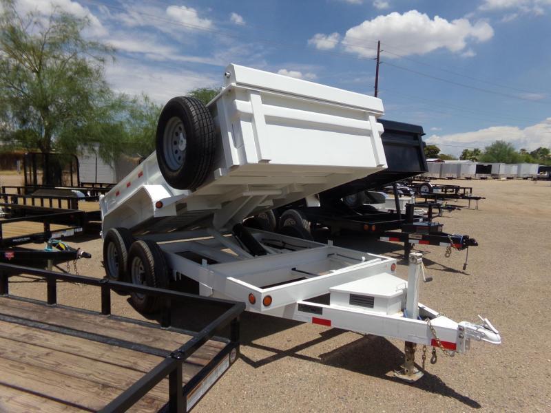 "72""x12' Load Trail Dump Trailer 10ga Sides"