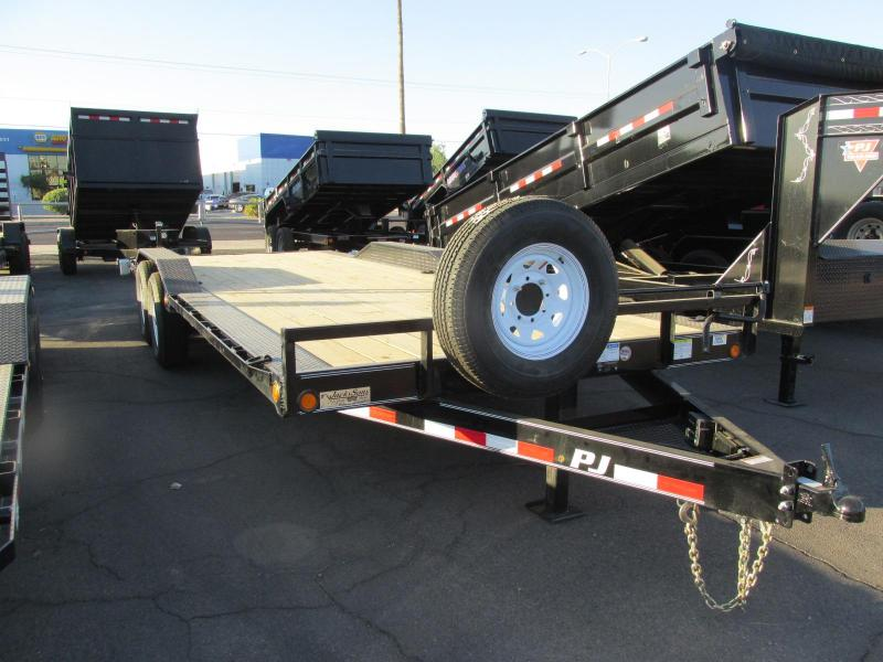 2018 PJ Trailers 102x22 flatbed Flatbed Trailer