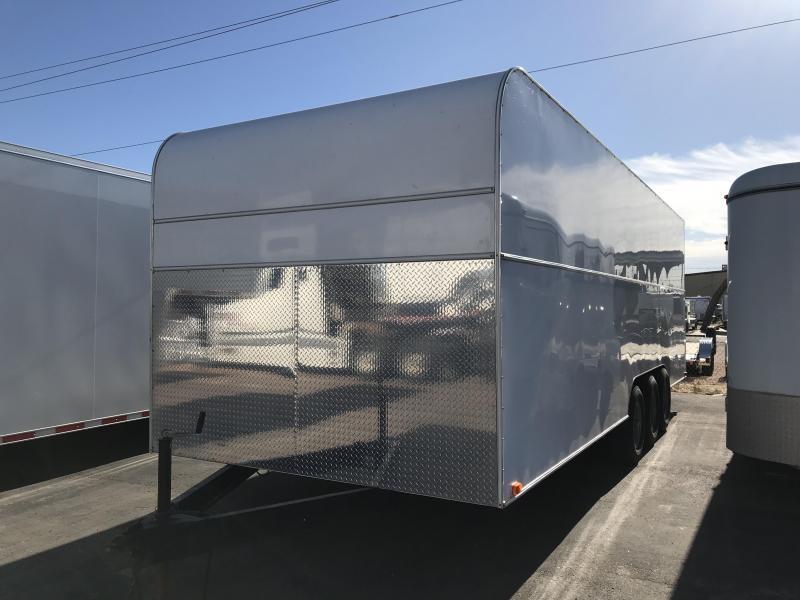 2003  AZ-TEX 8.5X24 ENCLOSED Car / Racing Trailer