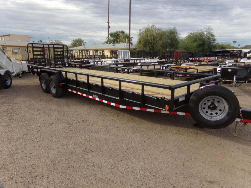 2019 Load Trail 26 FT HD TWIN UTV / UTILITY TRAILER Equipment Trailer