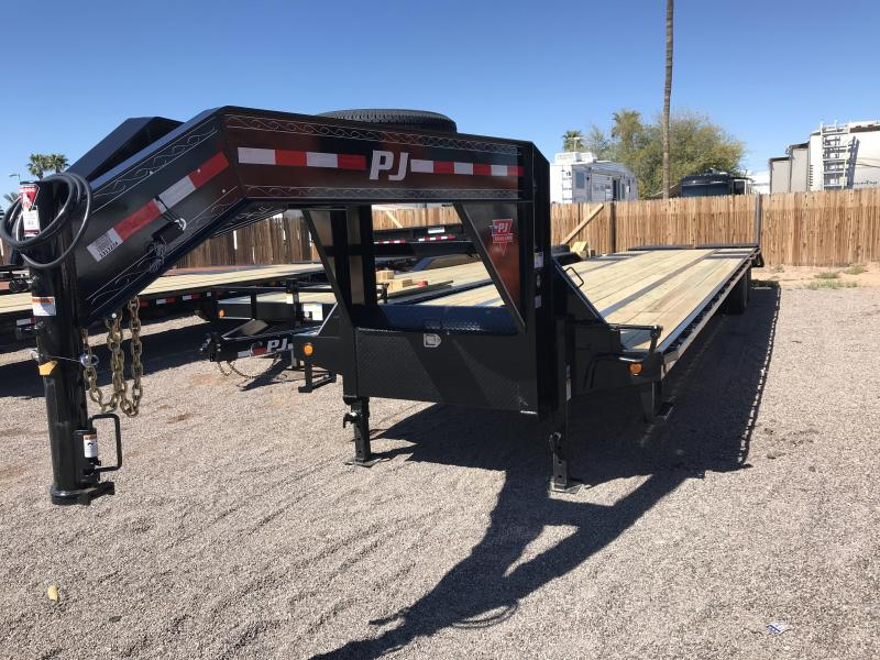 2019 PJ Trailers 102X40 Equipment HOT SHOT Trailer