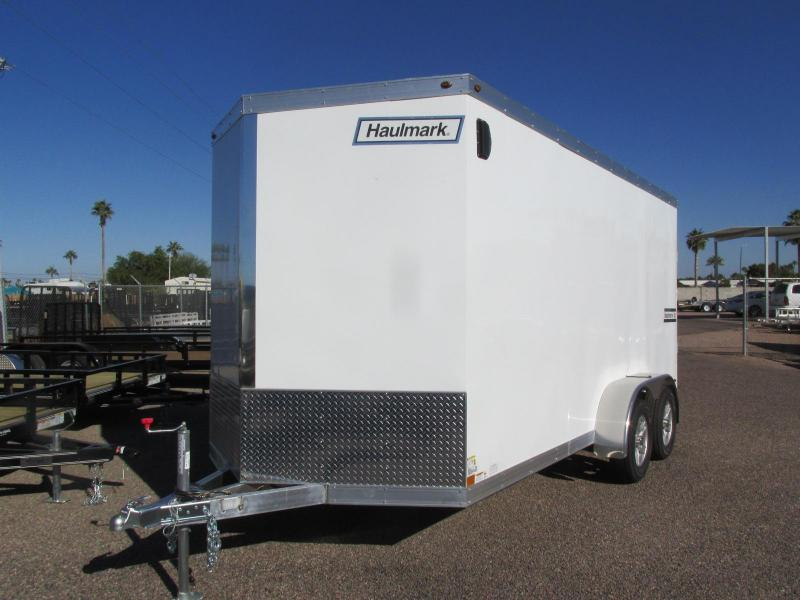 2019 Haulmark 7X16 ALL ALUMINUM Enclosed Cargo Trailer