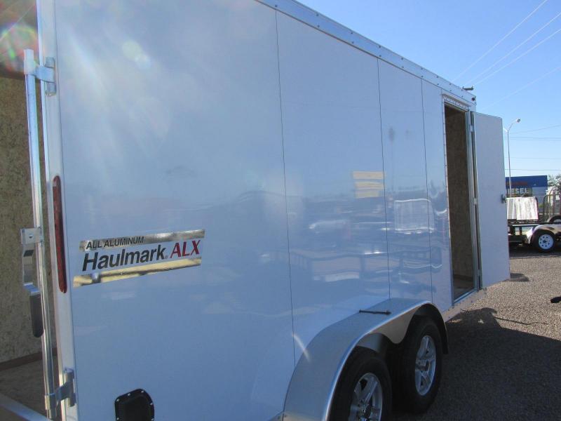 2019 Haulmark 7X16 ALL ALUMINUM Enclosed Cargo Trailer