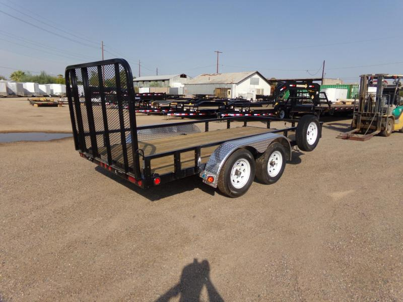 2019 PJ Trailers UK142 Utility Trailer