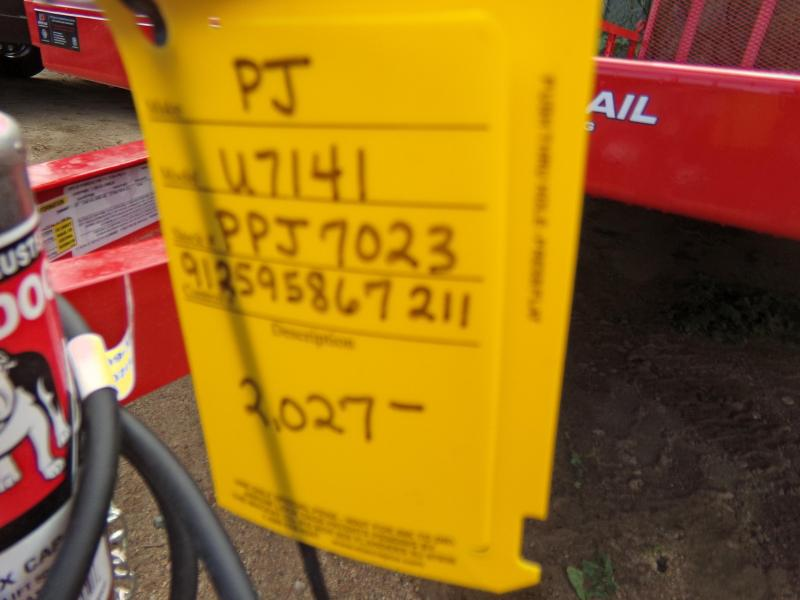 2019 PJ Trailers 14 X 77 RED UTV ATV UTILITY TRAILER ATV Trailer