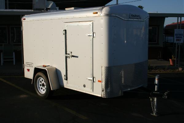 5x10 RENTAL TRAILER *NOT FOR SALE* Haulmark Trailers Ramp Cargo / Enclosed Trailer