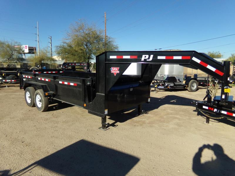 2019 PJ Trailers GOOSENECK DUMP 16FT Dump Trailer