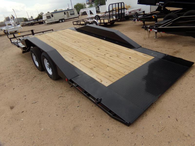 "102""x24' PJ Trailer Tilt w/ Drive Over Fenders"
