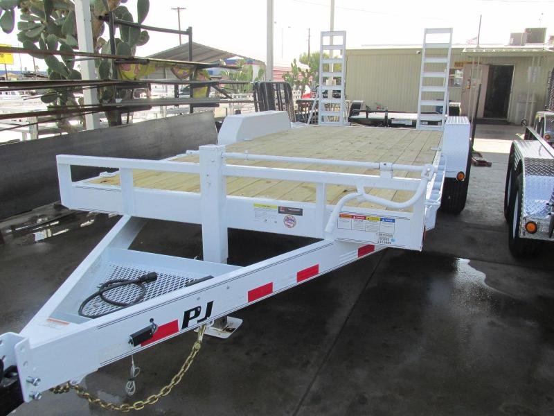 2019 PJ Trailers 83x18 Equipment Trailer