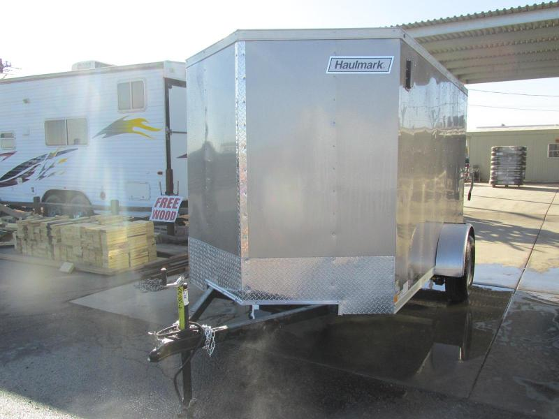 2018 Haulmark 6x10 Enclosed Cargo Trailer