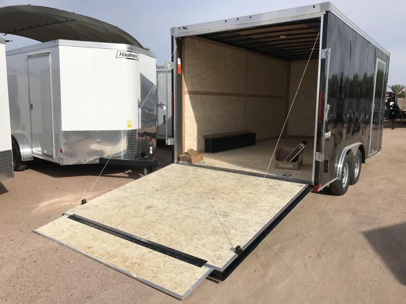2019 Haulmark 8.5X16 Enclosed Cargo Trailer