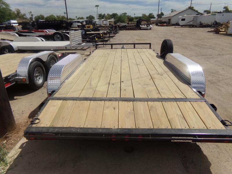 2020 PJ Trailers 16 X 83 CARHAULER DOVE TAIL W/XTRAS Car / Racing Trailer