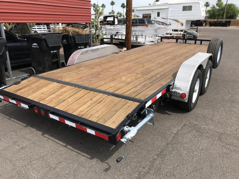 2015 PJ Trailers 83X20 Car / Racing Trailer