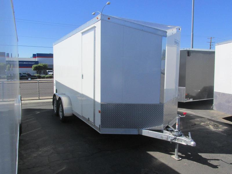 2017 Haulmark All Aluminum 7'x16' Motorcycle Trailer