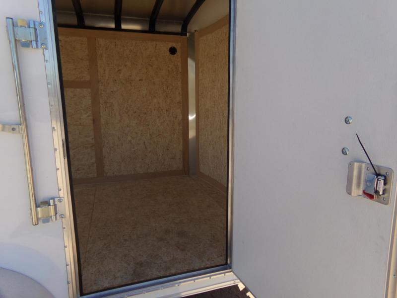 2019 Haulmark Transport 7X12 ENCLOSED RAMP DOOR Enclosed Cargo Trailer