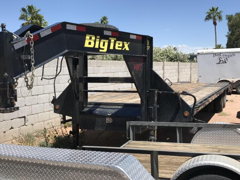 2012 Big Tex Trailers 102X33 Flatbed Trailer