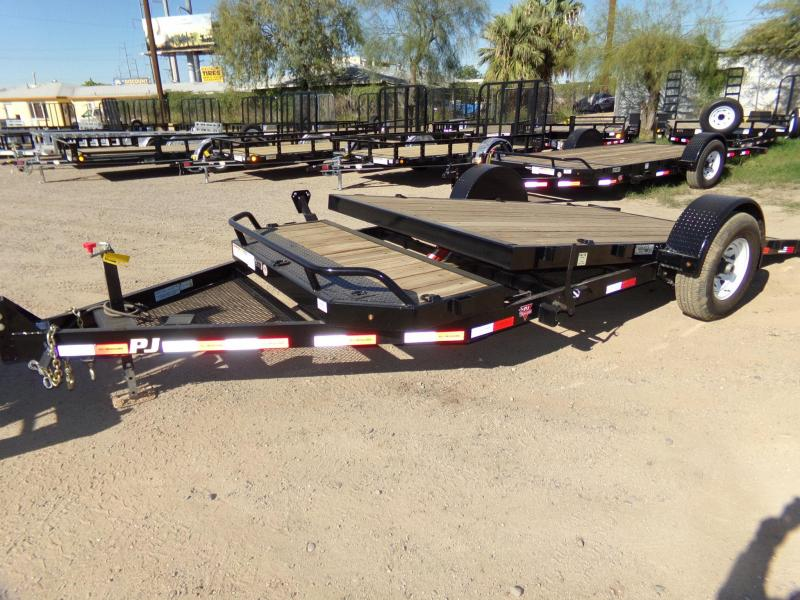 2018 PJ Trailers SINGLE AXLE TILT Flatbed Trailer