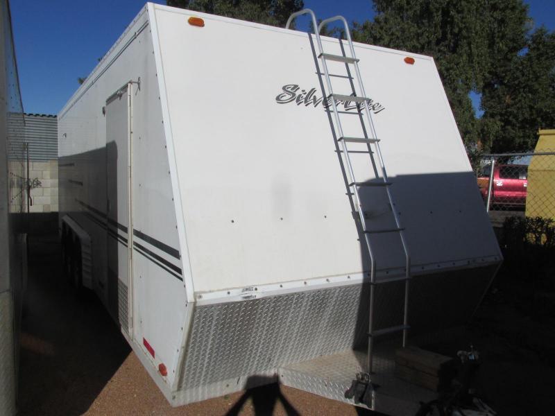 1997 Silver Lite 8.5X24 Enclosed Cargo Trailer