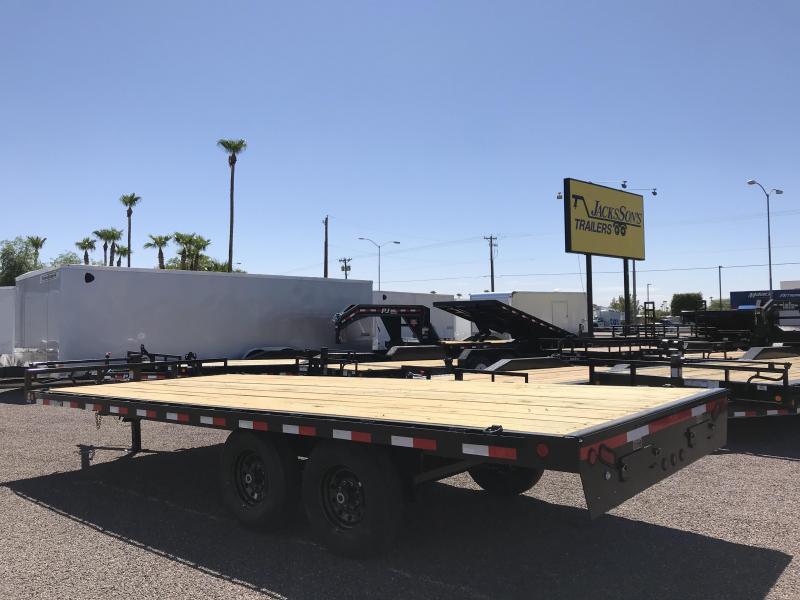 2019 Load Trail 102X20 DECKOVER PINTLE HOOK Car / Racing Trailer