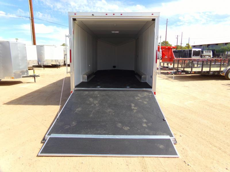 2018 Haulmark ALUMINUM Enclosed Cargo Trailer