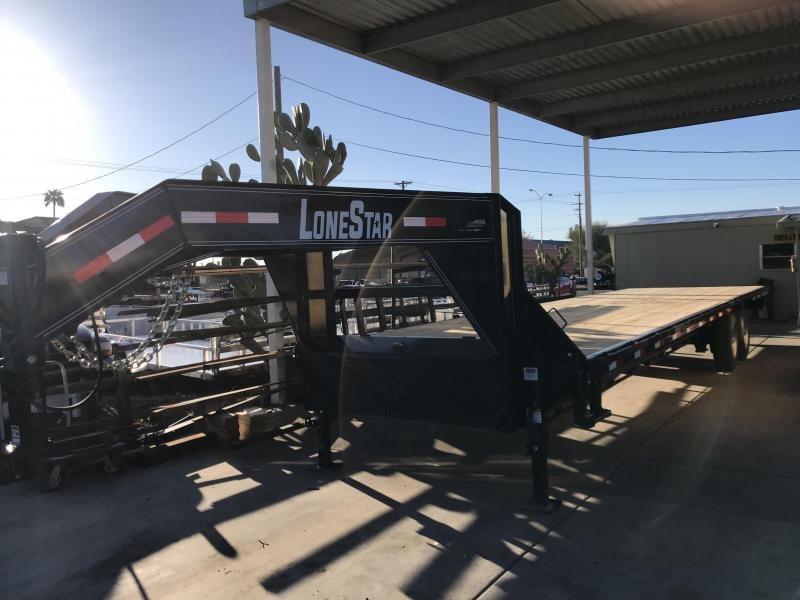 Lonestar 102x32 Gooseneck Deckover Hot Shot Trailer