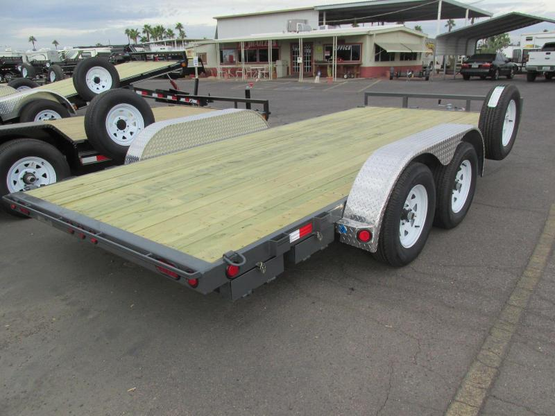 2018 PJ Trailers 83x16 Car / Racing Trailer