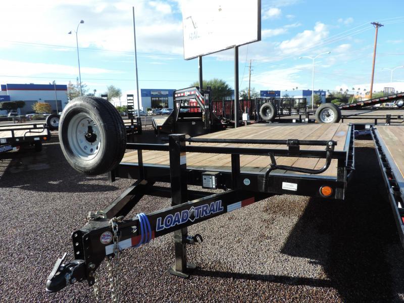 2019 Load Trail 102x20 Equipment Trailer