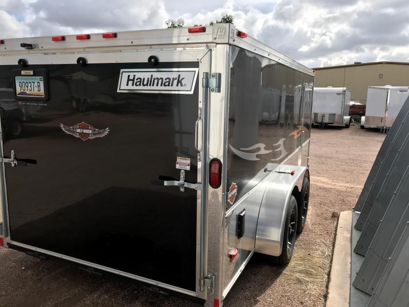 2015 Haulmark 7X14 Enclosed Cargo Trailer