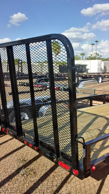 2020 PJ Trailers 10X72 SINGLE AXLE CHANNLE UTILITY Utility Trailer