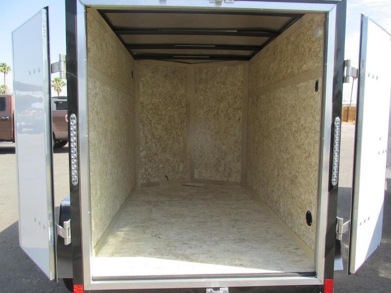 2018 Haulmark 5x8 Enclosed Cargo Trailer