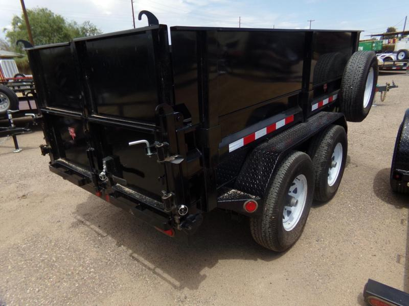 5x10 PJ Trailers Dump 7500 Capacity / Side Ext.