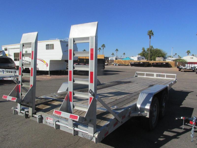 2017 Sundowner Trailers aluminum 81x22 Equipment Trailer