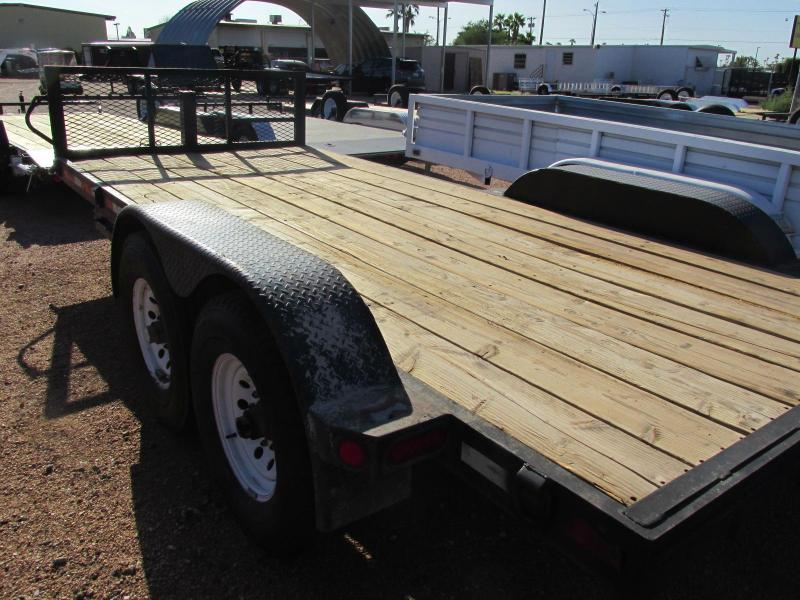 2004 K and K Trailers 83X16 Flatbed Trailer