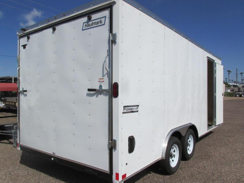 2018 Haulmark 8.5x18 Enclosed Cargo Trailer