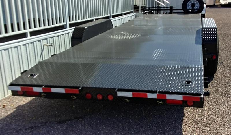 2020 PJ Trailers 24X6 CHANNEL EQUIPMENT Equipment Trailer