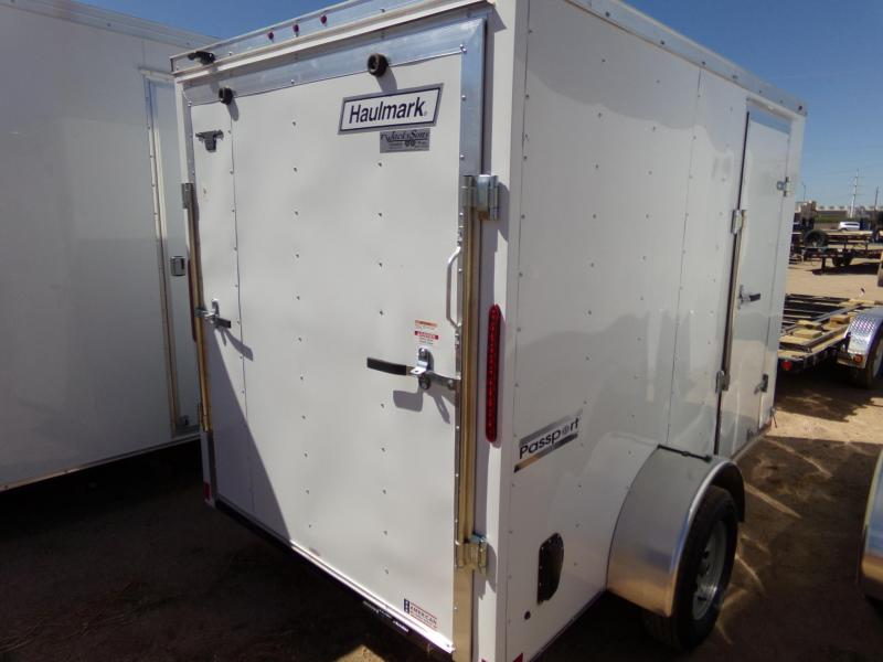 2019 Haulmark PASSPORT 6X10 CARGO RAMP DOOR Enclosed Cargo Trailer