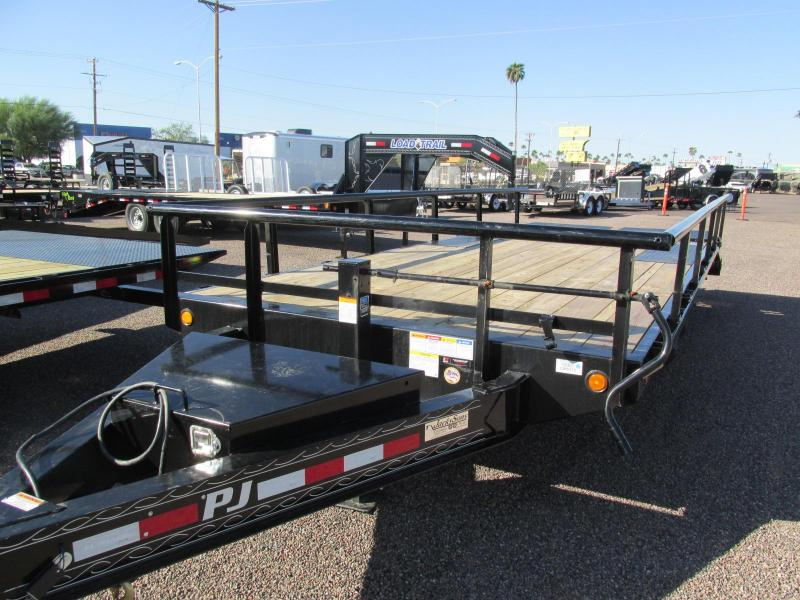 2019 PJ Trailers 20X8 I BEAM DECKOVER Equipment Trailer