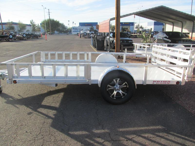 2019 Primo 82x12 all aluminum Utility Trailer