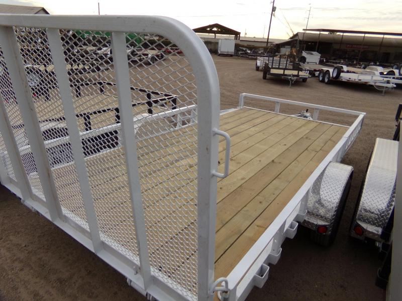 2019 PJ Trailers UTV /ATV UTILTY U8141 TRAILER ATV Trailer