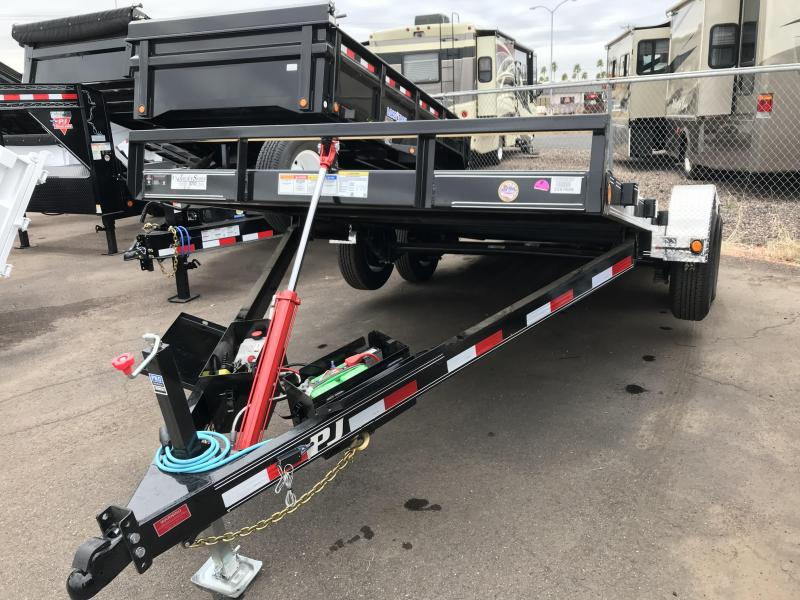 2020 PJ Trailers 83X18 TILT Car / Racing Trailer