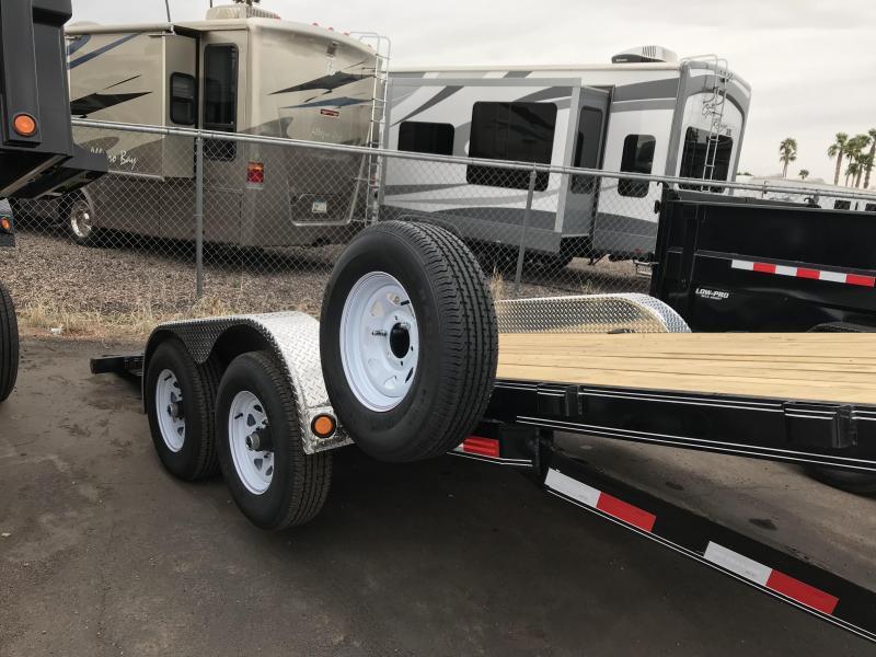 2020 PJ Trailers 83X18 TILT Car / Racing Trailer