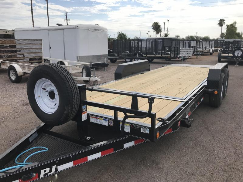 2020 PJ Trailers 83x20 Car / Racing Trailer
