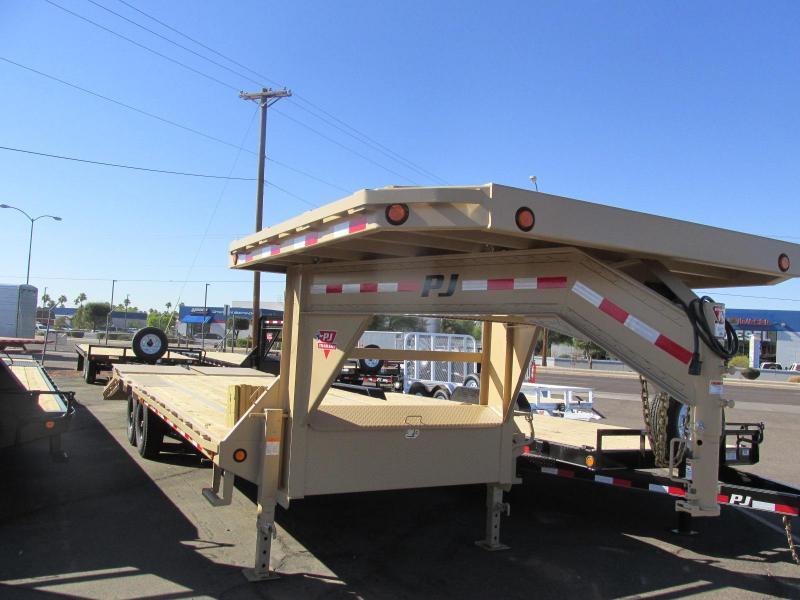 "PJ Trailer 102"" x 25' Equipment Heavy Duty"