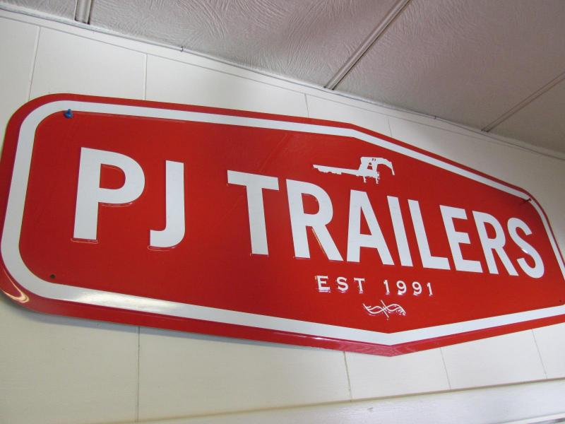 2019 PJ Trailers 81x13 Flatbed TILT Trailer