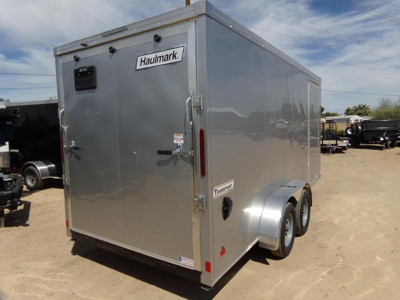 2019 Haulmark 716 XTRANSPORT UTV PACKAGE ENCLOSED XTRA HGT. Enclosed Cargo Trailer