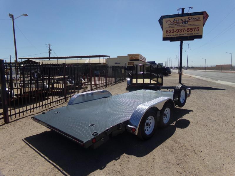 2019 PJ Trailers Car Hauler 16 STEEL DECK Car / Racing Trailer
