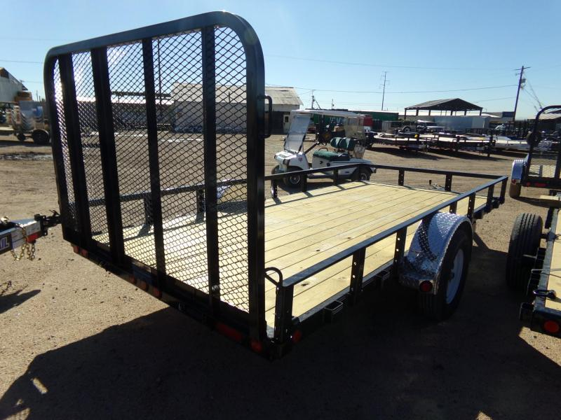 2019 PJ Trailers U7141 14X77 4 PASS UTV ATV UTILTY TRAILER ATV Trailer