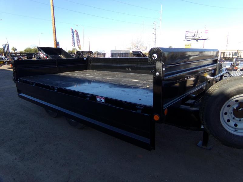 2019 Load Trail DECK OVER DROP SIDE DUMP TRAILER 14 FT. Dump Trailer